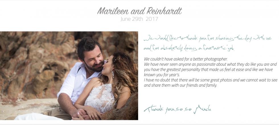 MarileenReinhardt Testimonial